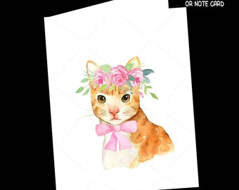 Cat-Greeting Card-All Occasion