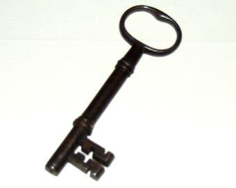 Antique Large Iron Skeleton Key