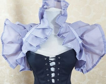 SUMMER SALE Light Mauve Purple Tie On Shrug