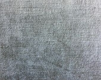 Beautiful Heavy Taupe Gray Velvet Upholstery Fabric