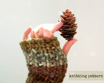 pine (ing) for you fingerless gloves pattern . easy knitting pattern . arm warmers texting typing gloves fingerless mittens pdf knit pattern