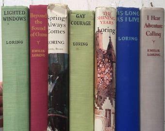 Vintage 1940s Emilie Loring Book Lot