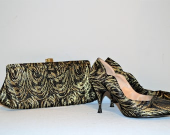 50s Bombshell Collection Clutch and High Heel Shoe