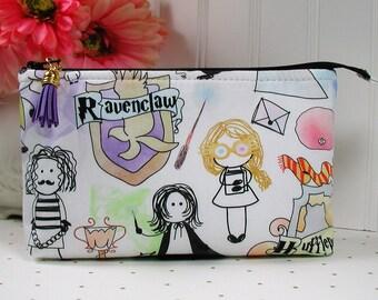 Doodle Potter Pouch/ Harry Potter Doodle Pouch/ Wizarding World Doodle Pouch