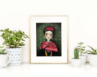 10% Off - Summer SALE Frida - Deluxe Edition Print