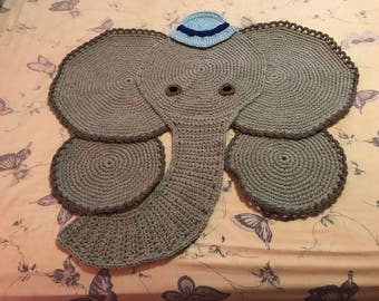 Edward the elephant rug.