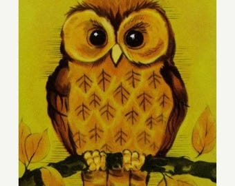 ONSALE Adorable Vintage Owl Cards Owls Playing Cards