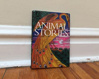 Animal Stories Children's Book Fairy Tales Vintage Hardcover 1993