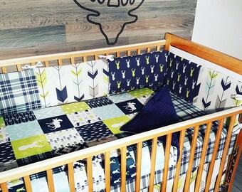 Literie complète pour chambre de bébé fait sur commande