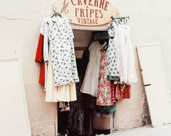 Vintage Shop in Paris