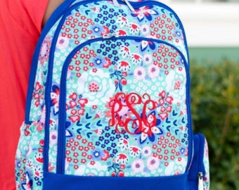 Personalized Monogramed Backpack