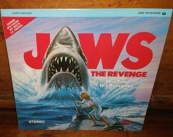Jaws The Revenge Vintage Laserdisc Movie Film