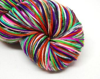 """Hardcore Sock Yarn - """"Witch, Please!"""" - Handpainted Superwash Merino - 463 Yards"""