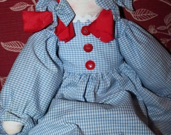 super sale handmade rag doll