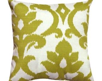 Green Outdoor Throw Pillow - Richloom Basalto Kiwi Green Outdoor Throw Pillow Free Shipping