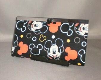 Wallet - DIVA Wallet - Clutch Wallet - Mickey Mouse