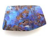 Boulder Opal Cabochon - 68ct - Natural Raw AUSTRALIAN OPAL Gemstone Jewelry Supply