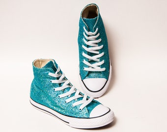 Toddler Glitter Sedona Orange Converse Canvas Low Tops
