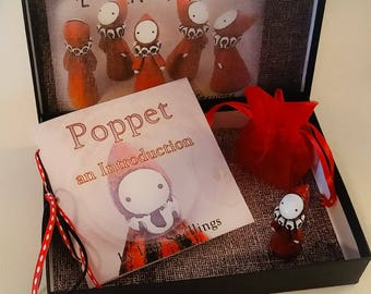 Poppet Gift Set - Book and Little Red Poppet