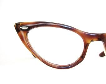 Vintage 50s Cat eye Eyeglasses Sunglasses Bausch & Lomb Frame