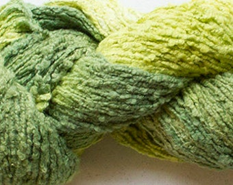 Whisper Hand-dyed Cotton Yarn, 225 yds - Lime Tonal
