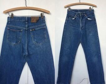 Vintage Lee Riders Denim Jean Pants 28 x 32
