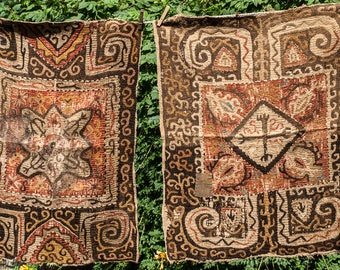 Two Antqiue Embroideries from Azerbaijan Pre World War 11