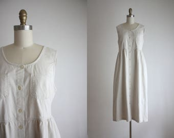 cotton apron dress