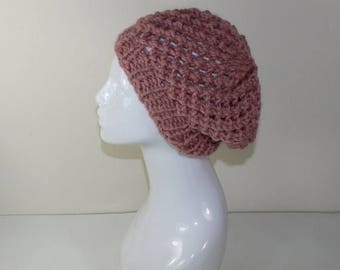 40% OFF SALE Instant Digital File pdf download knitting pattern Super Chunky Lace Beret knitting pattern