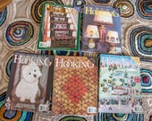Reserved Listing for Kimberly Rug Hooking Magazines Lot of Five (LOT 3)