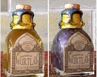 Essence of Murtlap, A Color Change, Harry Potter Potion Bottle Prop