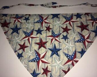 Patriot Stars Dog Bandana