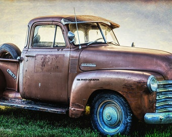 Chevy - Old Chevy - Rusty Old Chevy - Chevy Truck - Chevrolet - Chevrolet Truck - Rusty Old Truck - Fine Art Photography