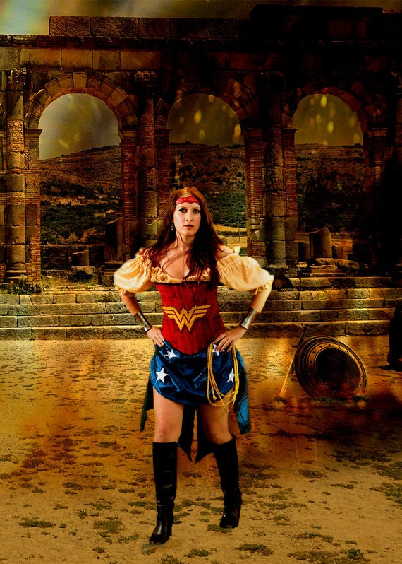 Wonder Woman Inspired Steampunk Costume