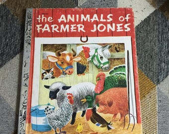 Vintage 1970 The Animals of Farmer Jones Leah Gale