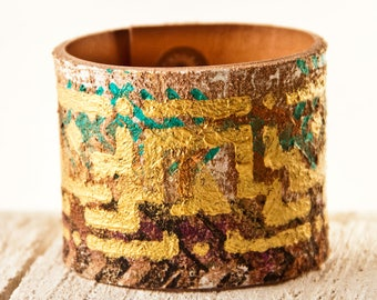 Rainwheel Leather Jewelry Cuff Bracelets for Women