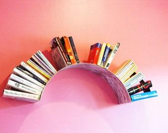 Sun Wall Bookshelf- Grinded