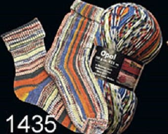 Opal Sock Yarn Hundertwasser, 100g/465yds, #1435