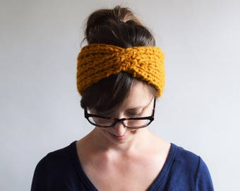 Chunky Twist Headband Pattern