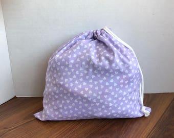 Travel Bag for Women, farmers market bag, toy bag, book bag for kids, drawstring bag, cotton bag, ecofriendly bag