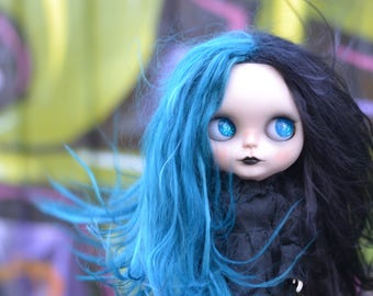 Draven, a OOAK customized Blythe doll by Rachel K