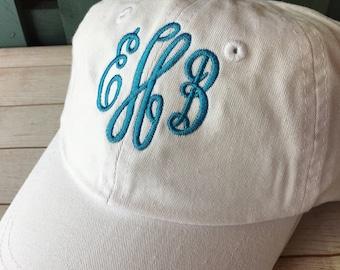 Monogram Youth Baseball Cap Personalized Kids Hat Youth Ball Caps