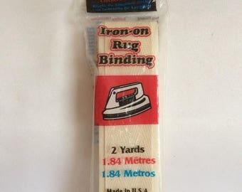 Sale Iron-on Rug Binding