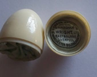 Antique Vintage Miniature Novelty Ring Box Case Celluloid W Wright Ltd