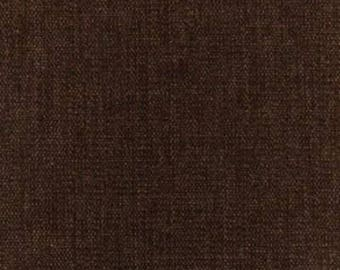 "Chenille, Espresso Fabric Remnant, Greenhouse Fabrics, 34"" x 10"", 100% Polyester,Upholstery,Pillows,Craft Use.Free Shipping."