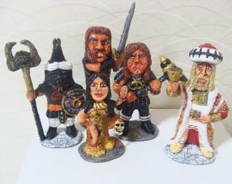The Cimmerian Barbarian Cutie Style  Figurine Set B*Made To Order*