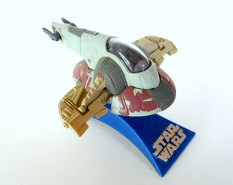 Star Wars Micro Machines Die-Cast Vehicle - Slave 1 - by Galoob 1997