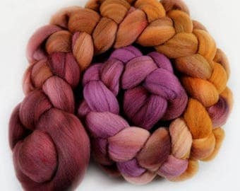 Regal merino wool top for spinning and felting (4.2 ounces)