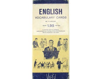 English Vocabulary Cards 1000 Flash Cards to Increase Your Vocabulary