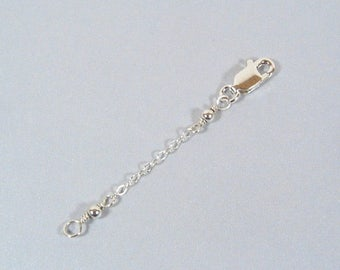 2 Inch Necklace Extender-Sterling Silver